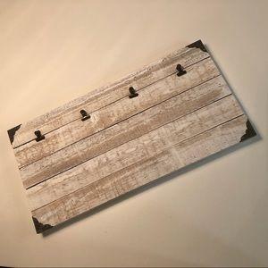 Farmhouse style wood photo holder